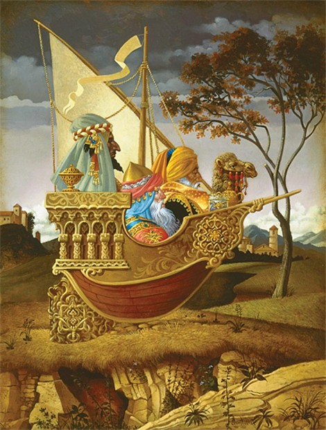 """Three Wise Men in a Boat"""