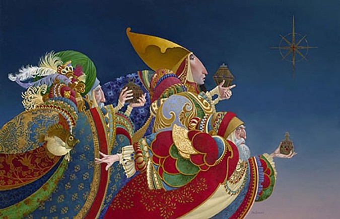 """We Three Kings"" by James Christensen at www.prints.com"