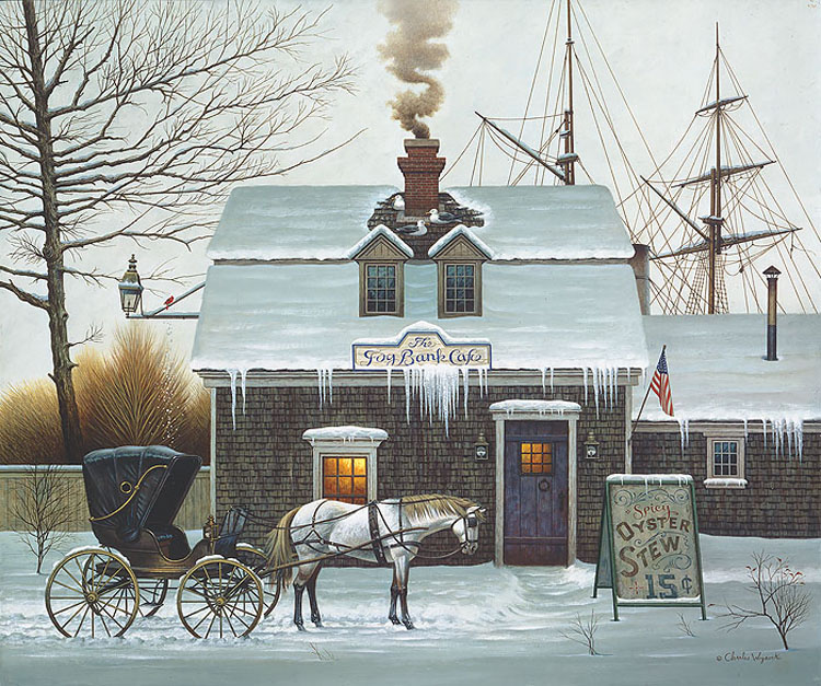 """""""Bellywarmers"""" by Charles Wysocki at Prints.com"""