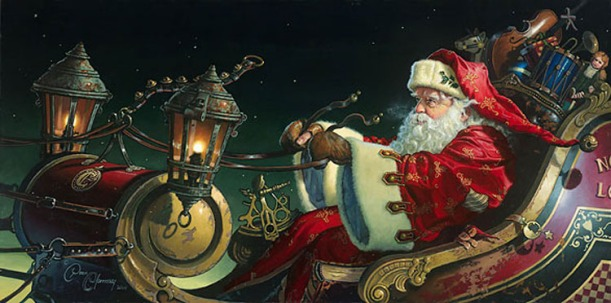 """Father Christmas: The Sleigh Ride"" - Dean Morrissey"