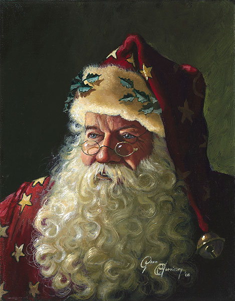 """Portrait of Father Christmas"""