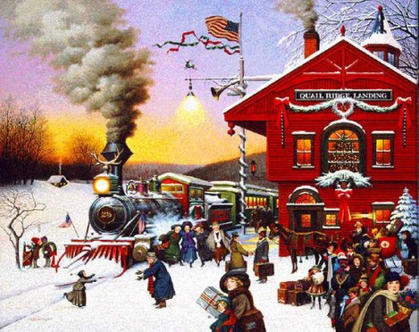 """Whistle Stop Christmas"""