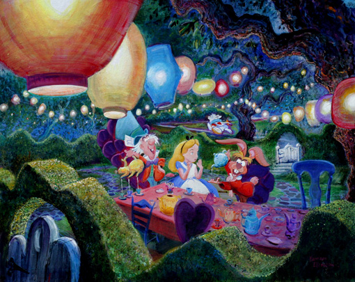 """The Mad Hatter's Tea Party"" - Harrison Ellenshaw"