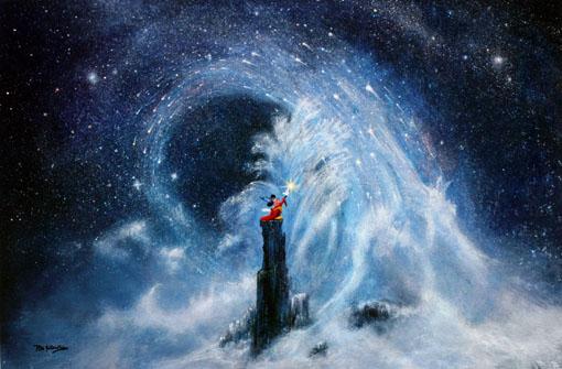 """Mickey's Dream"" - Peter Ellenshaw"