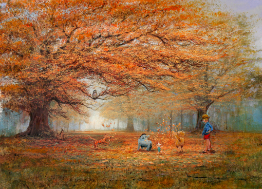 """The Joy of Autumn Leaves"" - Peter and Harrison Ellenshaw"