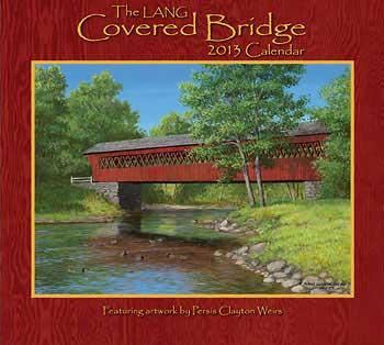 covered bridge calendar