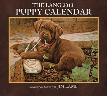 jim lamb puppy calendar