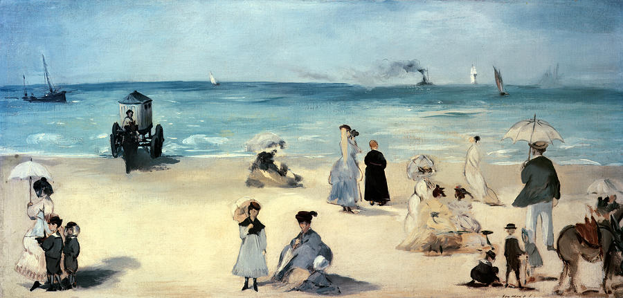beach-scene-edouard-manet