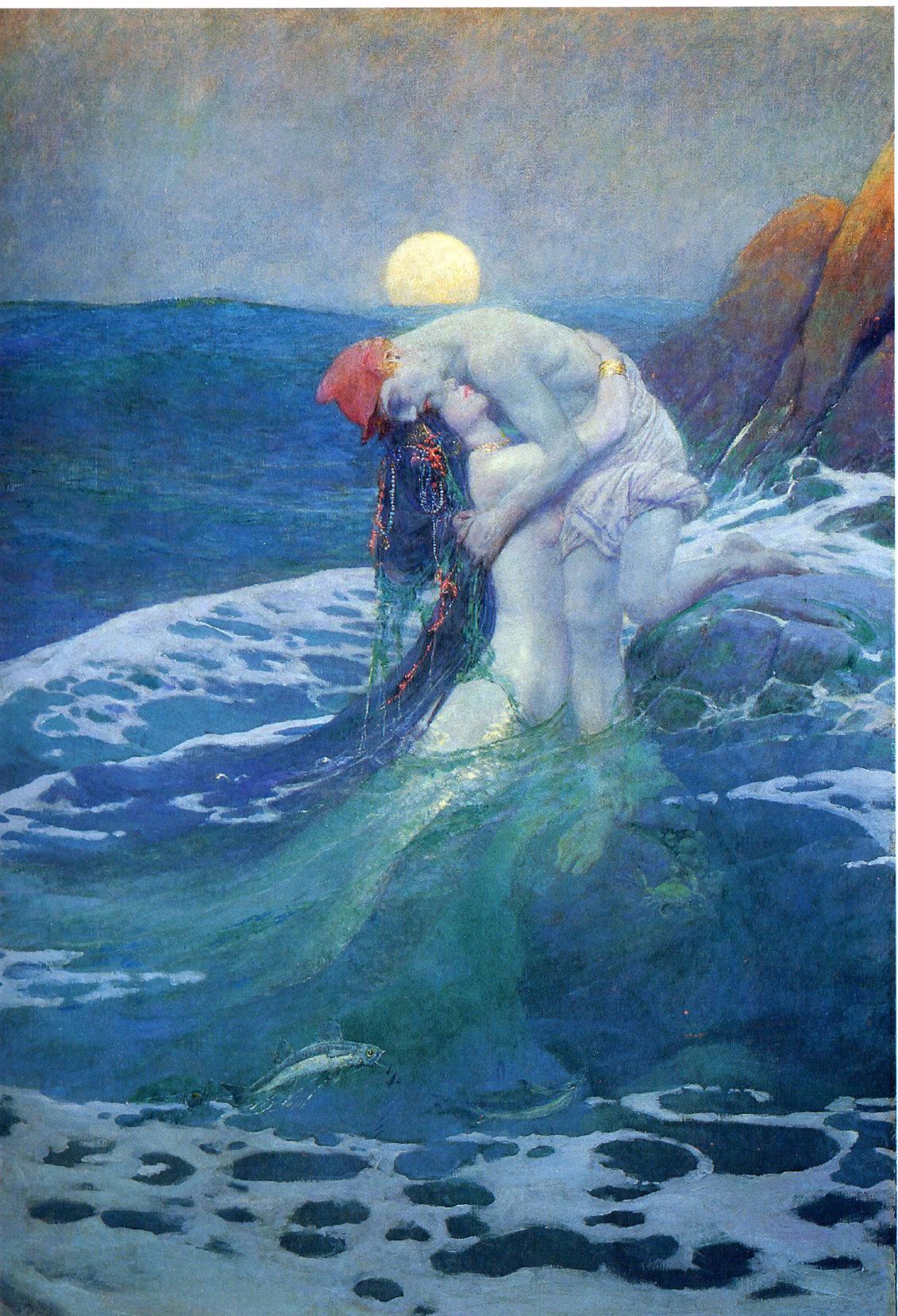 howard pyle the mermaid