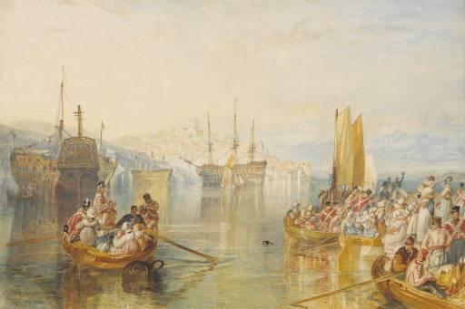 Saltash, Cornwall 1825 by Joseph Mallord William Turner 1775-1851