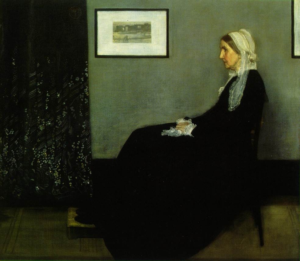 """Portrait of the Artist's Mother"" - James Abbott McNeill Whistler"